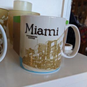 Starbucks Miami Collectors Series Mug